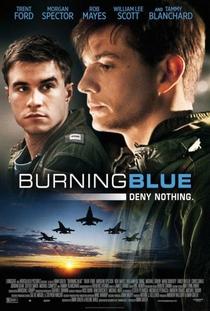 Burning Blue - Poster / Capa / Cartaz - Oficial 2