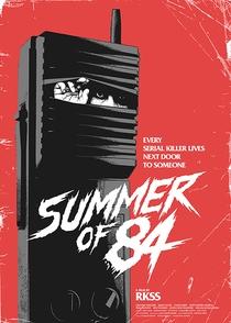 Verão de 84 - Poster / Capa / Cartaz - Oficial 6