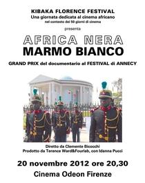 África Negra Mármore Branco - Poster / Capa / Cartaz - Oficial 1
