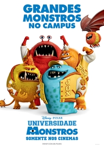 Universidade Monstros - Poster / Capa / Cartaz - Oficial 12