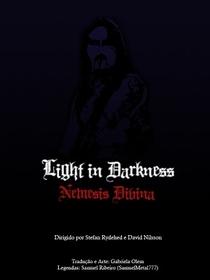 Luz na Escuridão Nemesis Divina - Um documentário sobre black metal cristão - Poster / Capa / Cartaz - Oficial 2