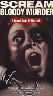 Scream Bloody Murder - Poster / Capa / Cartaz - Oficial 1
