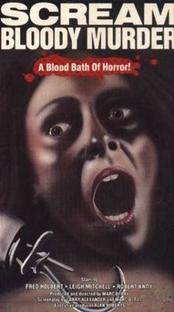 Scream Bloody Murder - Poster / Capa / Cartaz - Oficial 1