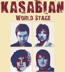World Stage: Kasabian  - Poster / Capa / Cartaz - Oficial 1