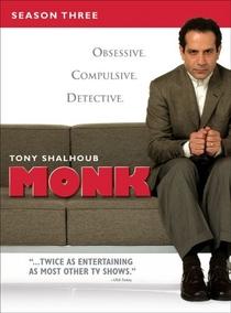 Monk: Um Detetive Diferente (3ª Temporada) - Poster / Capa / Cartaz - Oficial 1