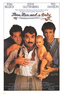 Três Solteirões e um Bebê - Poster / Capa / Cartaz - Oficial 1