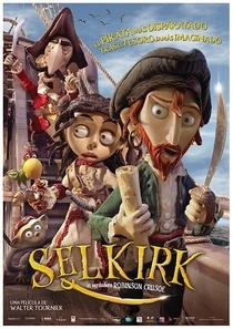 Selkirk, O Verdadeiro Robinson Crusoe - Poster / Capa / Cartaz - Oficial 1