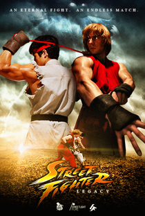 Street Fighter - Legacy - Poster / Capa / Cartaz - Oficial 1