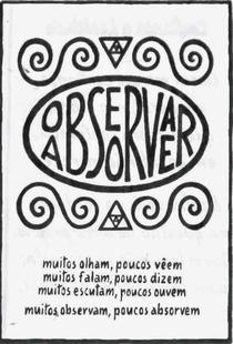 Observar e Absorver - Poster / Capa / Cartaz - Oficial 1