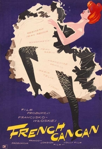 French Cancan - Poster / Capa / Cartaz - Oficial 3