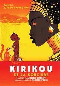 Kiriku e a Feiticeira - Poster / Capa / Cartaz - Oficial 1
