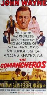 Os Comancheros - Poster / Capa / Cartaz - Oficial 3