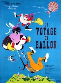 A Viagem de Balão - Poster / Capa / Cartaz - Oficial 2