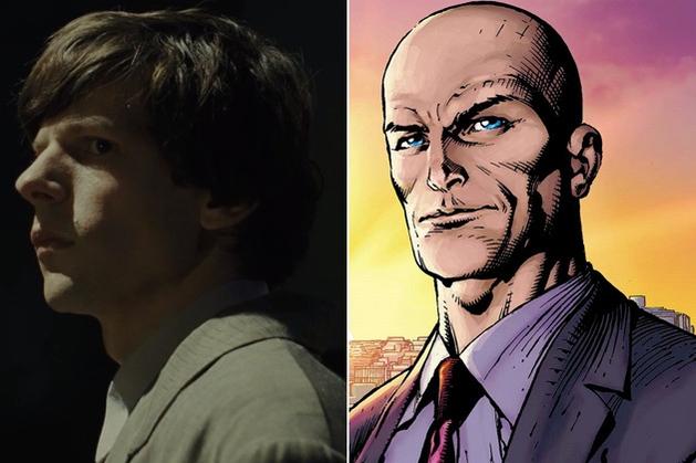 """Batman v Superman-€"""" Jesse Eisenberg aparece com a cabeça coberta no set de filmagens! - Cine Mundo"""