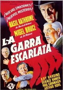 Garra Escarlate - Poster / Capa / Cartaz - Oficial 6