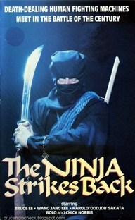 The Ninja Strikes Back - Poster / Capa / Cartaz - Oficial 6