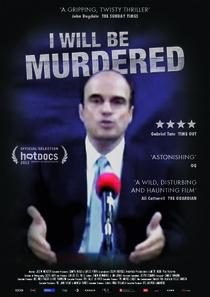 Eu Vou Ser Assassinado - Poster / Capa / Cartaz - Oficial 1