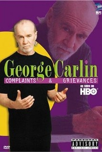George Carlin: Complaints and Grievances - Poster / Capa / Cartaz - Oficial 1