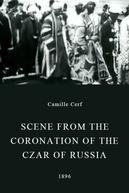 Cena da Coroação do Czar da Rússia (Nicolau II)
