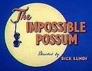 The Impossible Possum (The Impossible Possum)