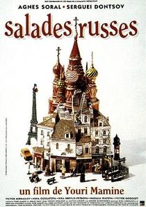 Salada Russa Em Paris - Poster / Capa / Cartaz - Oficial 4