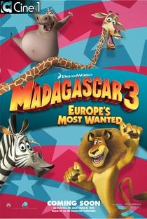 Madagascar 3: Os Procurados - Poster / Capa / Cartaz - Oficial 5