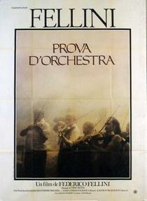 Ensaio de Orquestra - Poster / Capa / Cartaz - Oficial 3