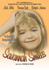 O Sorriso de Savannah - Poster / Capa / Cartaz - Oficial 2