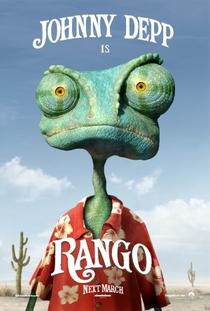 Rango  - Poster / Capa / Cartaz - Oficial 2