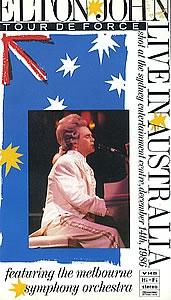 Elton John - Live In Australia - Poster / Capa / Cartaz - Oficial 1
