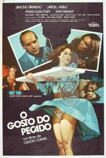 O Gosto do Pecado - Poster / Capa / Cartaz - Oficial 1