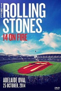 Rolling Stones - Adelaide 2014 - Poster / Capa / Cartaz - Oficial 1