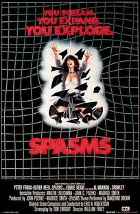 Spasms - Poster / Capa / Cartaz - Oficial 1