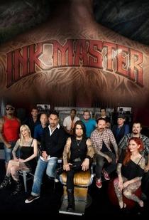 Ink Master (1ª Temporada)  - Poster / Capa / Cartaz - Oficial 1