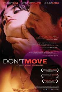 Não Se Mova - Poster / Capa / Cartaz - Oficial 1