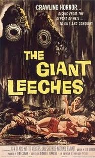 O Ataque das Sanguessugas Gigantes - Poster / Capa / Cartaz - Oficial 1
