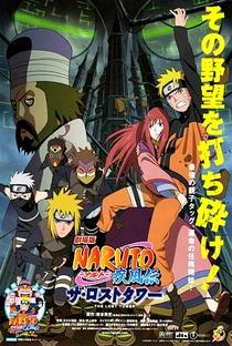Naruto Shippuden 4: A Torre Perdida - Poster / Capa / Cartaz - Oficial 2