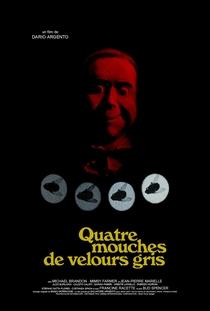 Quatro Moscas Sobre Veludo Cinza - Poster / Capa / Cartaz - Oficial 8