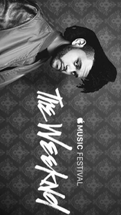 The Weeknd - Apple Music Festival 2015 - Poster / Capa / Cartaz - Oficial 1