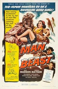 Man Beast - Poster / Capa / Cartaz - Oficial 1