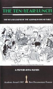 The Ten-Year Lunch: The Wit and Legend of the Algonquin Round Table - Poster / Capa / Cartaz - Oficial 1