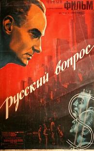 A questão russa - Poster / Capa / Cartaz - Oficial 1