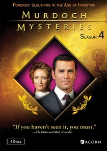 Os Mistérios do Detetive Murdoch (4ª temporada) - Poster / Capa / Cartaz - Oficial 1