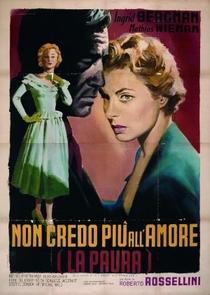 O Medo - Poster / Capa / Cartaz - Oficial 1