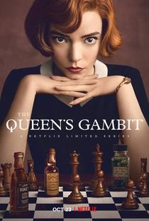 O Gambito da Rainha - Poster / Capa / Cartaz - Oficial 1