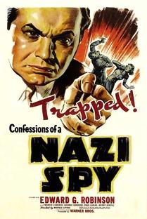 Confissões de um Espião Nazista - Poster / Capa / Cartaz - Oficial 1