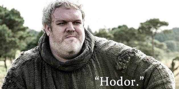 Game of Thrones | Tributo emocionante a Hodor
