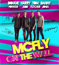 McFLY On The Wall – Na estrada com McFLY - Poster / Capa / Cartaz - Oficial 1