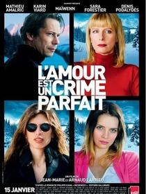 O Amor É um Crime Perfeito - Poster / Capa / Cartaz - Oficial 1