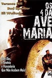 Os 4 da Ave Maria - Poster / Capa / Cartaz - Oficial 1